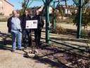 Floreixen les 200 plantes de safrà sembrades al Jardí Botànic-Arborètum de Lleida