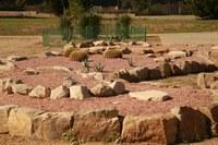 L'Arborètum ha construït una rocalla per a plantes dels desert càlids d'Amèrica de Nord
