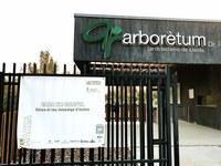 L'Arborètum, sortida i arribada de la caminada solidària 'ACEE en marxa de Lleida'