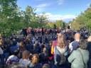 """L'espectacle infantil """"El lleó i el ratolí"""" atrau 500 persones a l'Arborètum de Lleida"""